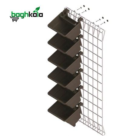 شاسی فولادی دیوار سبز 45*106 سانتیمتر (دو عدد)